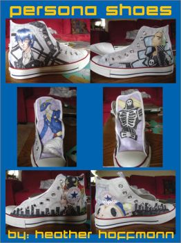 Persona Shoes by Djheatha
