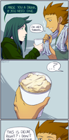 4koma: Drinks by General-RADIX
