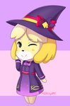 Witchy Isabelle by GlitchyNPC