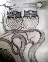 Owls by JenJen83