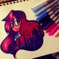 A Little Sharpie Challenge~ (EDIT) by ChristinaDragon