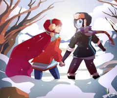 Snowflakes by GDBee