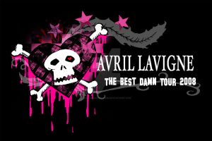 Avril Lavigne Tour Tee 2 alt by nathanielwilliam