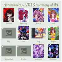 NS_ 2013 Art Summary by NasikaSakura