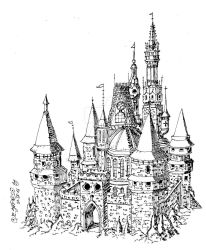 Mediaval Castle by EBRINES