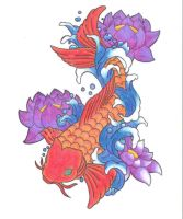 Koi Tattoo - Ver. 1 by KriticKilled
