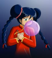 Commission - Lin Minmay bubble by Thiridian