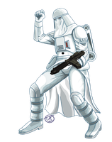 Snowtrooper by sithlord151