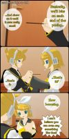 RinxLen Comic MMD Version 1/ 4 by PiccolaGoccia