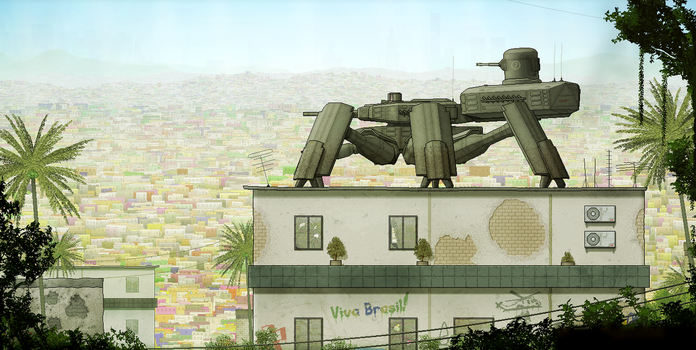 Favelas by BlastWaves