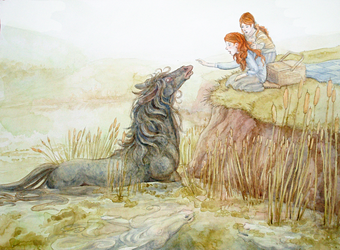 Meeting the Kelpie by Camelid