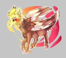 Cockatiel by TheMashedCat
