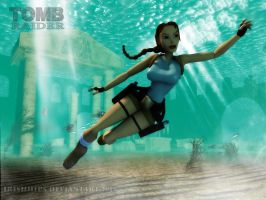 Tomb Raider Classic: Ocean by Irishhips