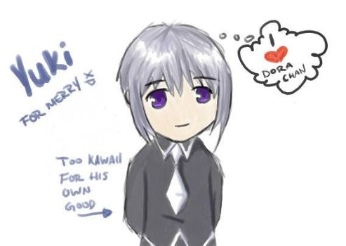 Yuki Sohma-For Dora chan by emietook