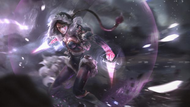 Dota 2 - Templar Assassin loading screen by TrungTH