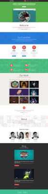 Centinix Responsive Website by Nas-wd