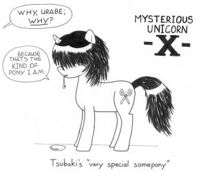 Mysterious Unicorn X by towelgirl21