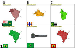 6 Brazils by LouisTheFox
