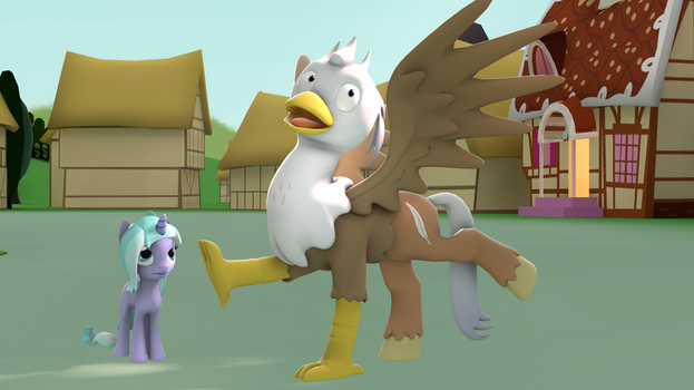 Behold! The Hippogriff by GameAct3
