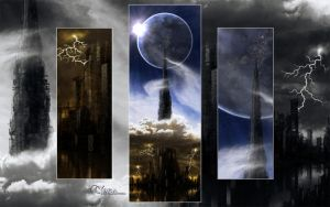 Tower to another world wp by Malanori