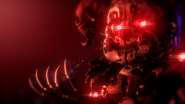 Nightmare Baby Alternate Render - [FNaF SL] by ChuizaProductions