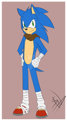 Sonic Boom: Sonic by SonicWind-01