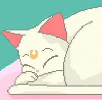 Pixel Kitty by goodra676