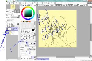 Lineart Tutorial For Sai Par3 by nejean