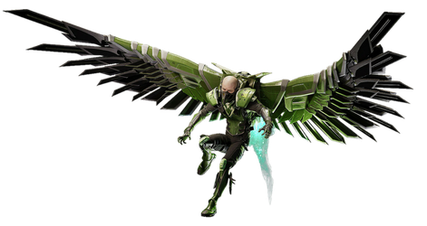 Spider-Man PS4 Vulture PNG by Metropolis-Hero1125