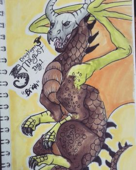 Smaugust day 1: Brian by DraigKegnet