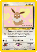 Eevee Fake Card by icycatelf