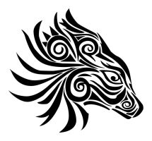 Tribal Animal by pixelworlds
