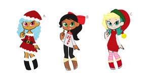 Oc Adoptables for December 2017 [OPEN] by Obeliskgirljohanny