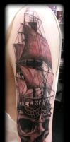 Skullship by state-of-art-tattoo