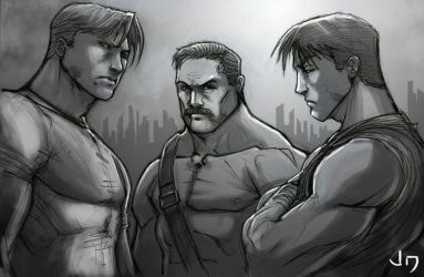Ultimate Final Fight by arsenalgearxx