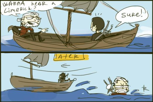 The Witcher 3, doodles 24 by Ayej