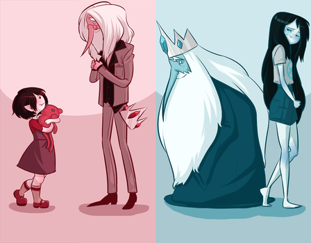 Simon and Marceline by GalletaDulce99