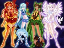 Senshi Elements by Lunakinesis