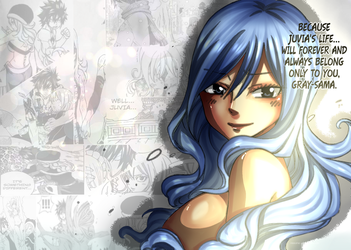 Juvia Fairy tail by Natsume-s