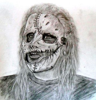 Corey Taylor (Slipknot) by tksb1981