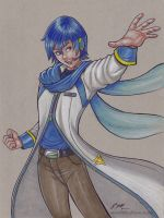 Kaito by em-scribbles
