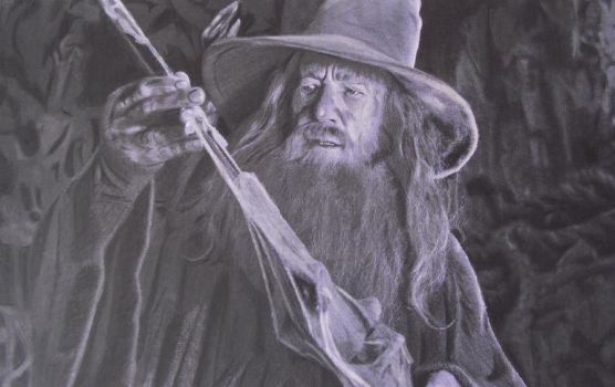The Hobbit: Gandalf The Grey by Starfire-Productions