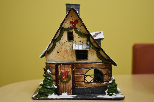 Christmas House 2 Stock by AmandaKulpStock