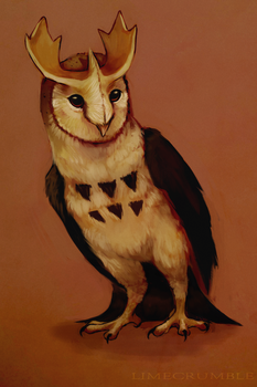 Noctowl by Limecrumble
