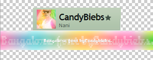 Bangalore font by CandyBiebs