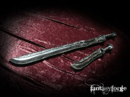LARP Weapons: Rogue blades by FantasyForgeLARP
