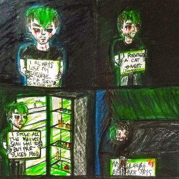 Rotten Potatoes #18 (Antisepticeye Fan Comic) by EmiLightning