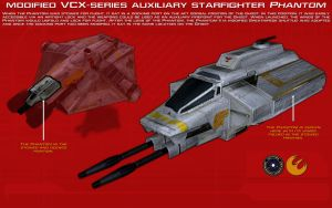 VCX-series auxiliary starfighter Phantom ortho [2] by unusualsuspex