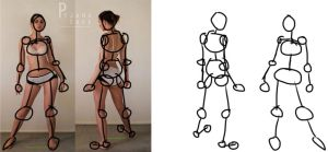 Character Design: Gesture Drawing by DeterminedHunter1778