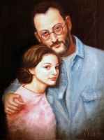 Natalie Portman And Jean Reno by TungstemWillow